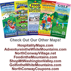 White Mountains Map & Guides