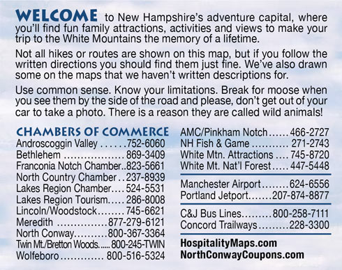 NH Chamber's of Commerce phone numbers