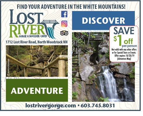 Lost River Gorge & Boulder Caves